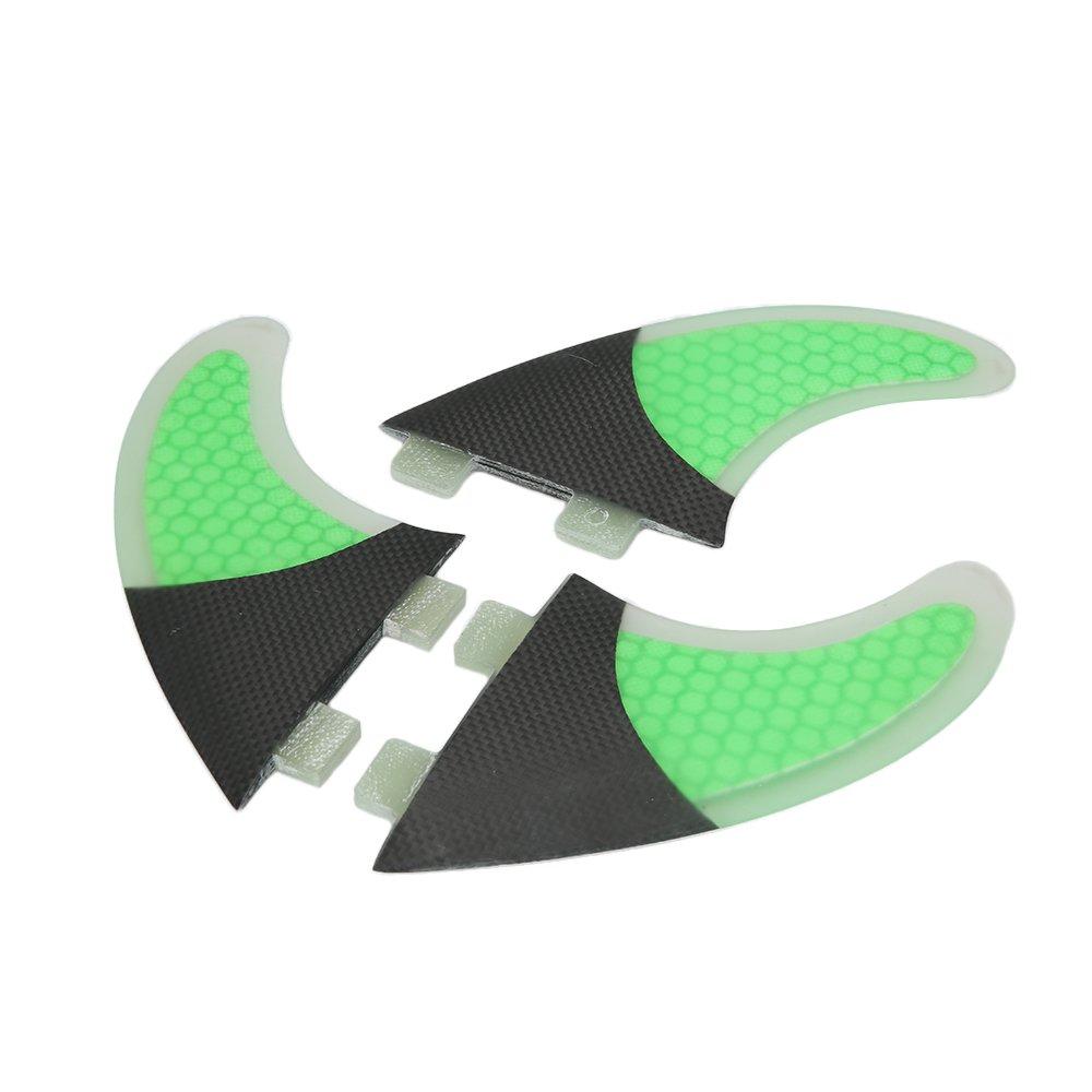 G7 Surf Lixada Tabla De Surf Aletas Conjunto De Panal 3 Mitad De Fibra De Carbono Surf Board Aletas G3 G5