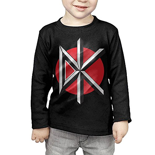 Cambodia Costume For Kids - MHGJ Toddler Boy's & Girl's Dead Kennedys Long Sleeve Tees 4 Toddler Black
