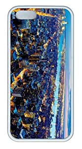 brand new covers nyc city evening view TPU White Case for iphone 5/5S