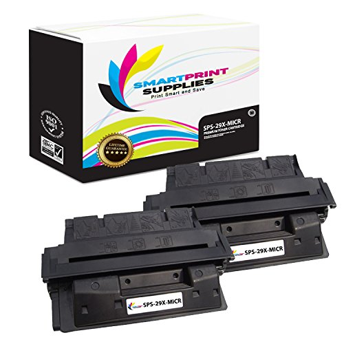 Smart Print Supplies Compatible 29X C4129X MICR Black High Yield Toner Cartridge Replacement for HP Laserjet 5000 5100 Series Printers (10,000 Pages)