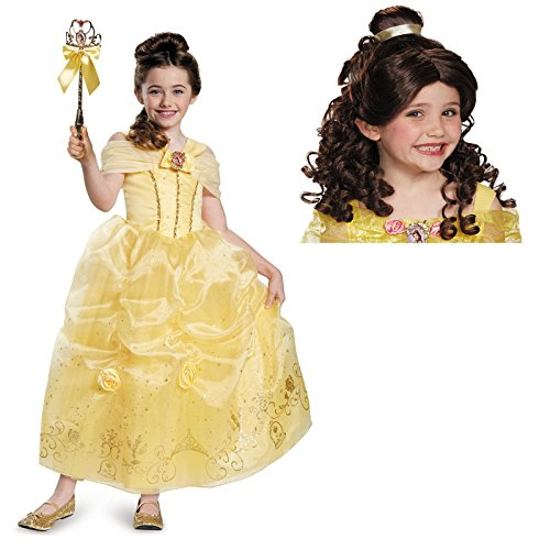 Beauty and the Beast Belle Child Costume Bundle Set - X-Small 3T/4T