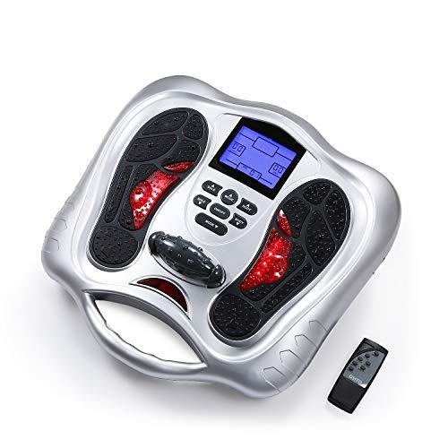 Foot Circulation Stimulator - Electrical Nerve Muscles Stimulation for Feet & Legs - Medic Electric Pulse Foot Massager Machine for...