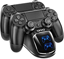 PS4 Controller Charger Dock Station, OIVO Controller Charging Dock with Upgraded 1.8Hours-Charging Chip, Charging Dock...