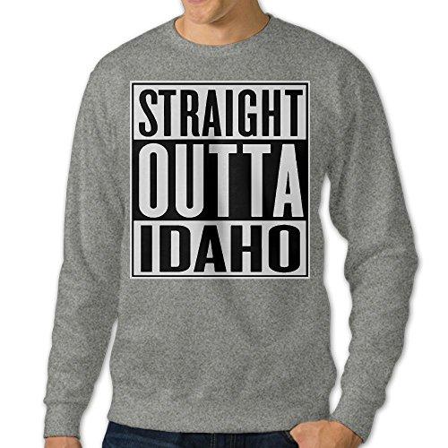 GsShan08 Straight Outta Idaho Men's Sweatshirt,Long Sleeve For - Idaho Stores Falls