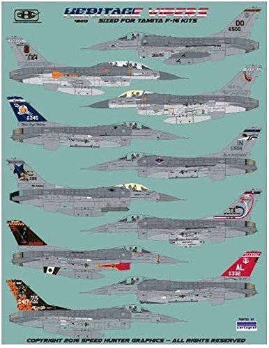 RAPSH48013 1:48 Speed Hunter Graphics - F-16A F-16C F-16D