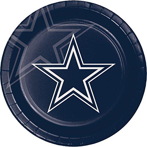 Dinner Plates Cowboys (Dallas Cowboys Paper Plates, 24 ct)