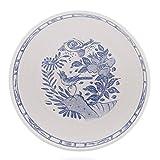 Gien Oiseau Blue Cereal Bowl, Set of 4
