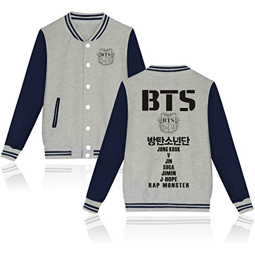Sweats Fans BTS Blouson Love Sweatshirts BTS Yourself Yx7T7Hqgw