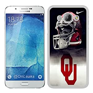Cheap Abstract Samsung Galaxy A8 Case,Oklahoma Sooners 01 White New Custom Design Samsung Galaxy A8 Cover Case