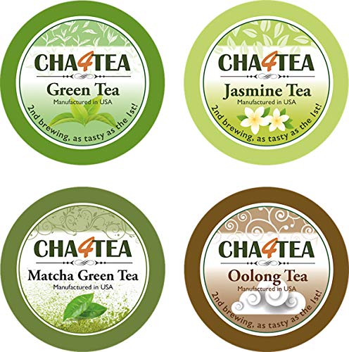 Cha4TEA 36-Count Assorted Green