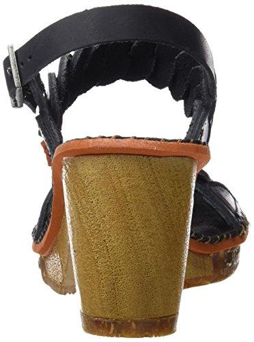 Art 1050 Mojave Amsterdam, Scarpe Col Tacco con Cinturino a T Donna nero