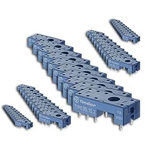 Finder serie 95 - Zócalo circuito impreso para 5,0 bk