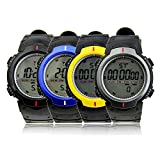 HeroNeo® New Waterproof Fashion Men's LCD Digital Stopwatch Date Rubber Sport Wrist Watch