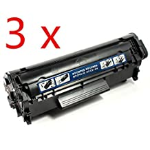 3 PACK SaveOnMany ® HP Q2612A 12A / CANON 104 (0263B001) / FX9 / FX10 Black BK New Compatible hp12a / Canon104 / FX-9 FX-10 Toner Cartridge For HP LaserJet 1010, 1012 / Canon imageCLASS D420 D480 MF4150 MF4270 MF4350D MF4370DN MF4690 / FAXPHONE L100 L120 L90