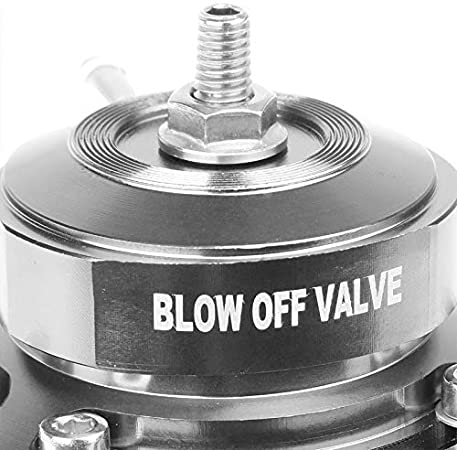 Red Billet Anodized Aluminum Type-FV Style 30 PSI Turbo Intercooler Boost Blow Off Valve BOV