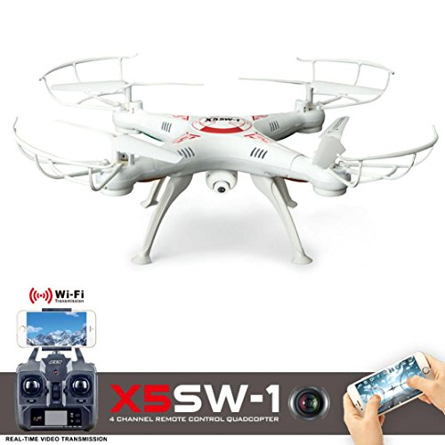 Predator Mini RC Helicopter Drone X5SW-1 Wifi FPV RTF 2.4G 6-Axis Gyro 4 Channels RC Real-time Images Return Quadcopter Camera Drone Wifi With HD UAV Camera One-press Return for Drone Training -SHY