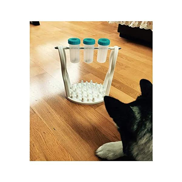 Pet Dog Interactive Puzzle Toys for IQ Training and Entertainment by Spinning Bottle, Funny Slow Food Feeder to Prevent Obesity (12.20 X 8.66 X 6.69 in) 7