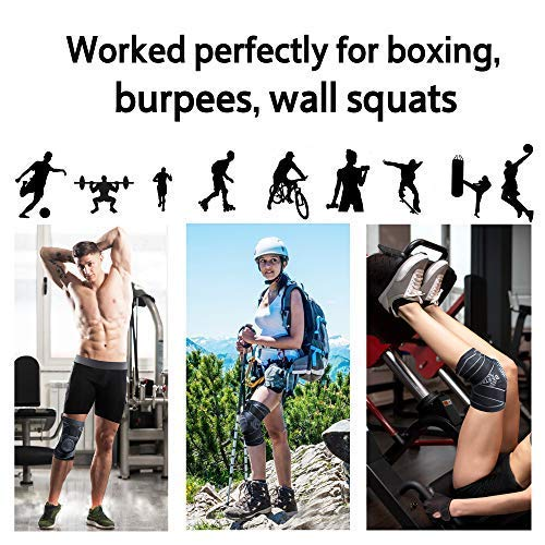 38e3ab541a ... Hiking BERTER Knee Brace for Men Women - Compression Sleeve Non-Slip  for Running, ...