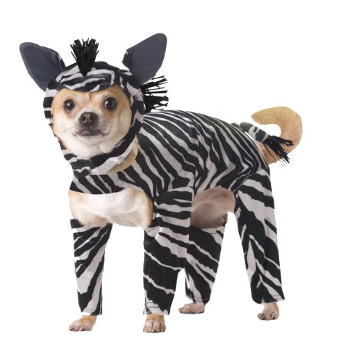 Animal Planet PET20100 Zebra Dog Costume, Small -