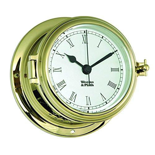 Weems and Plath Endurance II 115 Quartz Clock with Roman Numerals, - Collection Endurance Plath