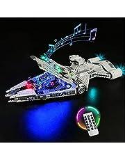 YBLOC LED-verlichtingsset Voor Lego 75315 Star Wars Imperial Light Cruiser Building Kit, Lichtshow Compatibel Met Lego 75315 (exclusief De Lego-set)
