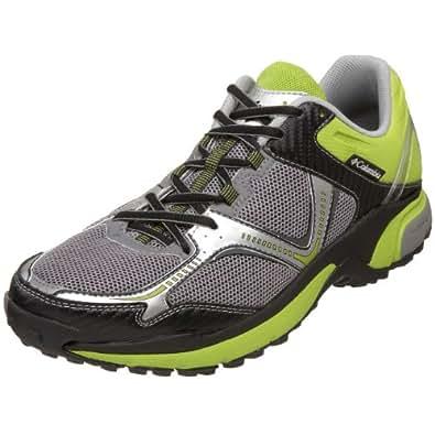 Columbia Men's BM3556 Ravenous Trail Running Shoe,Light Grey/Wham,9.5 M US