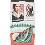 Leisure Arts - Ultimate Oval Loom Knitting Set | Pattern Book with 7 Easy to Follow Patterns | Oval Looms in 2 Sizes with Stitching Tool: more info