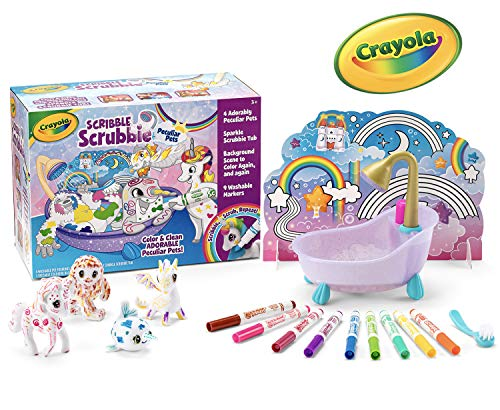 Scribble Scrubbie Peculiar Pets is a top toy for 3 and 4 year old girls