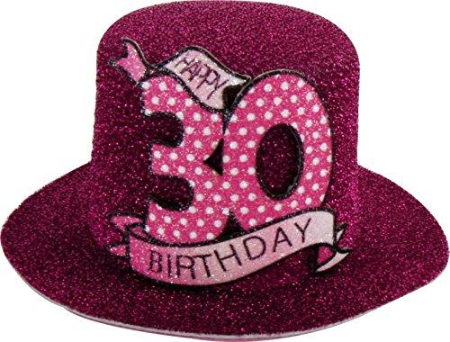 1 STK. Sombrero de fiesta de cumpleaños 30 años Fiesta ...