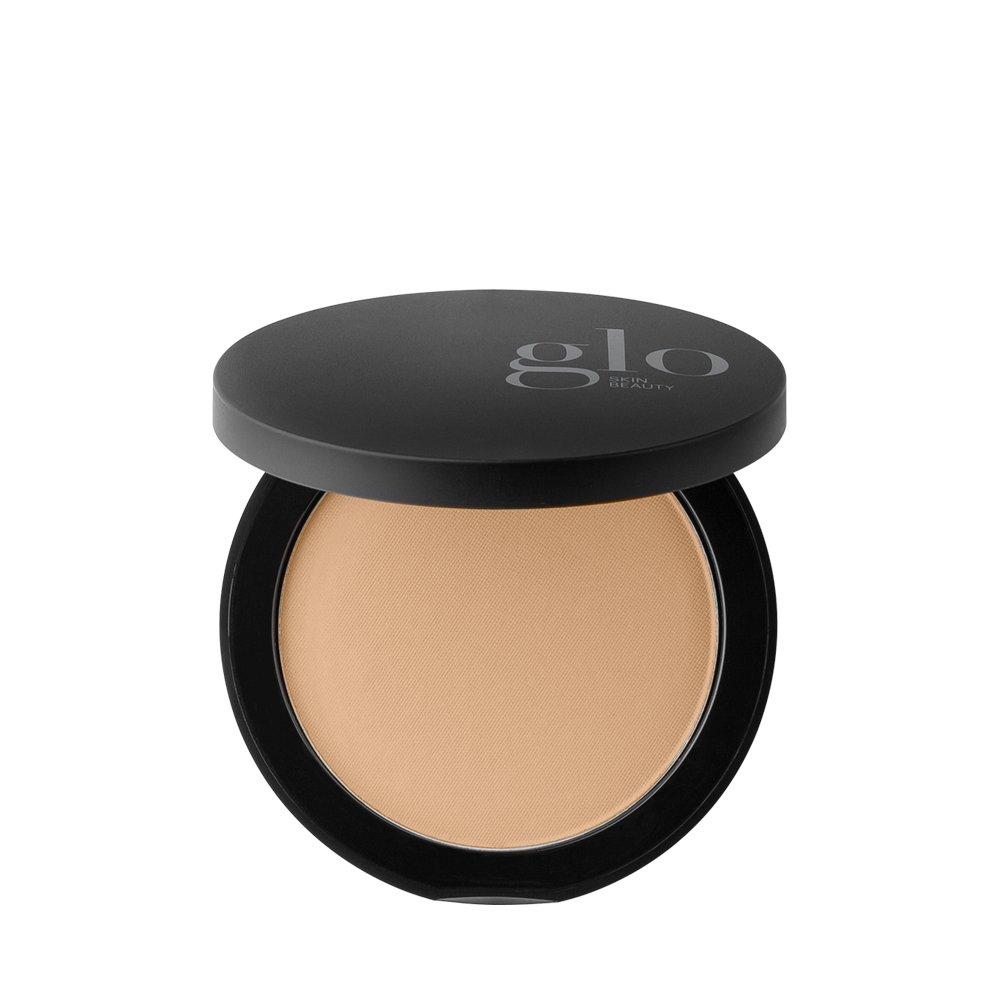 Glo Skin Beauty Pressed Base - Honey Medium - Mineral Makeup Pressed Powder Foundation, 20 Shades | Cruelty Free
