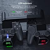 PS4 Slim Pro Cooling Stand Controller