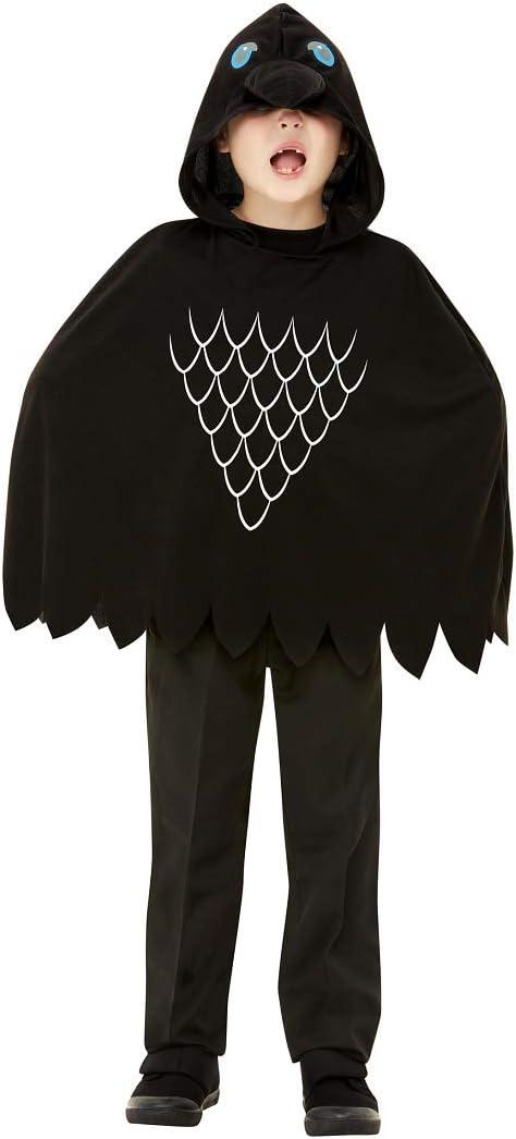 NET TOYS Extravagante Disfraz de Cuervo para niño - Negro L, 10 ...