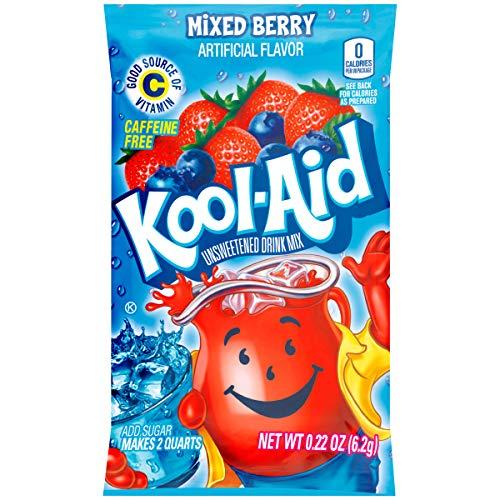 Kool Aid Berry Twist Drink Mix, Makes 2 Quarts (0.22 oz Packets, Pack of 192) (Kool Aid Twists Ice Blue Raspberry Lemonade)