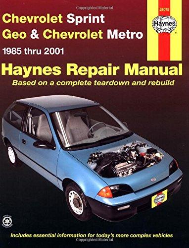 Chevrolet Sprint & Geo Metro 1985-2001 (Haynes Manuals)