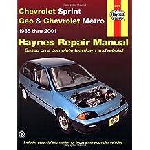 Haynes Chevrolet Sprint Geo & Chevrolet Metro 1985-2001