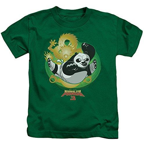 Kung Fu Panda Drago Po Little Boys Shirt Kelly Green LG (7)