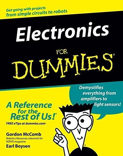 Electronics For Dummies (For Dummies (Lifestyles Paperback)) by McComb, Gordon, Boysen, Earl(February 4, 2005) Paperback