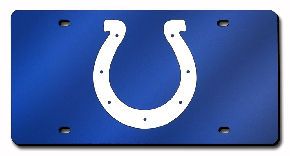 Rico NFL Indianapolis Colts Laser Cut Auto Tag