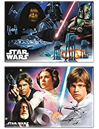 Favor 2-Pack STAR WARS IV Magnets 2 x 3 inch INDOOR / OUTDOOR Use occupation