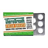 TheraBreath Fresh Breath Chewing Gum, Citrus Mint