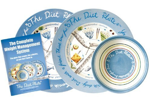 The Diet Plate Family Pack: Male and Female by The Diet Plate by Perfect Portion Control