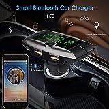 Tpingfe Wireless Bluetooth FM Transmitter Modulator Car Kit MP3 Player Dual USB Charger