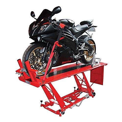 BIKE IT NBI PDSLIFT03 Hydraulic Large Sized Motorcycle Workshop Table Lift