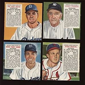 1953 Redman Tobacco Baseball Card Complete Set VG/EXMT - MLB Baseball Cards