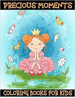 Precious Moments Coloring Books For Kids Cute Precious Moments Coloring Pages For Kids And Adults Night Dark 9798635445600 Amazon Com Books