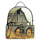 JSTEL Kids Backpack Children's Day Gift Farm School Backpacks for Boys Girls Bookbags Travel Laptop Bags