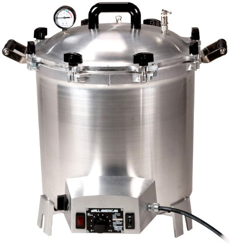 All-American Electric 27.3 Quart 1650 Watts/13.75 amps Sterilizer by All American Products
