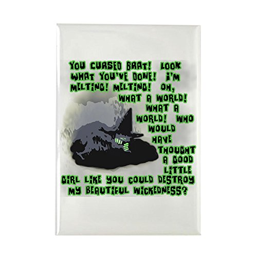 CafePress I'm Melting.Wicked Witch Rectangle Magnet, 2