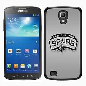 PAN Personalized Design San Antonio Spurs 2 Black Samsung Galaxy S4 Active i9295 Case