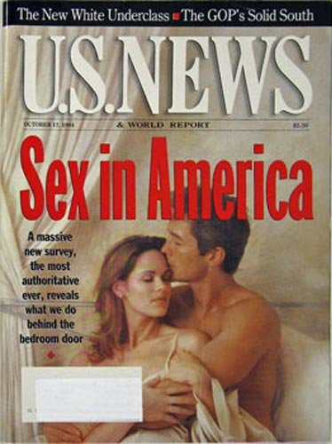 U. S. News & World Report Magazine (October 17, 1994) Sex in America